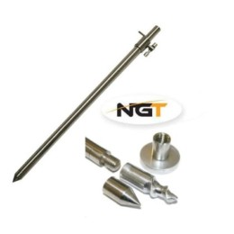 NGT Bank Stick Stainless Steel 4fishing